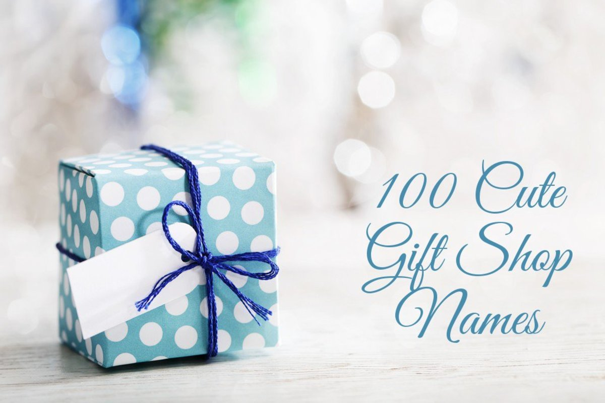 100 Cute Gift Shop Name Ideas
