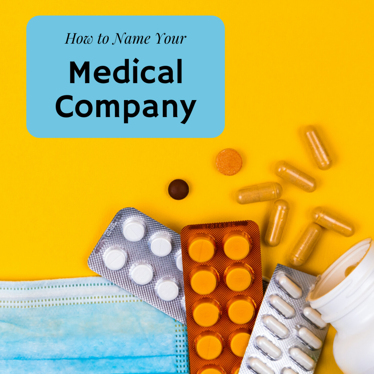 50 Great Medical Company Name Ideas