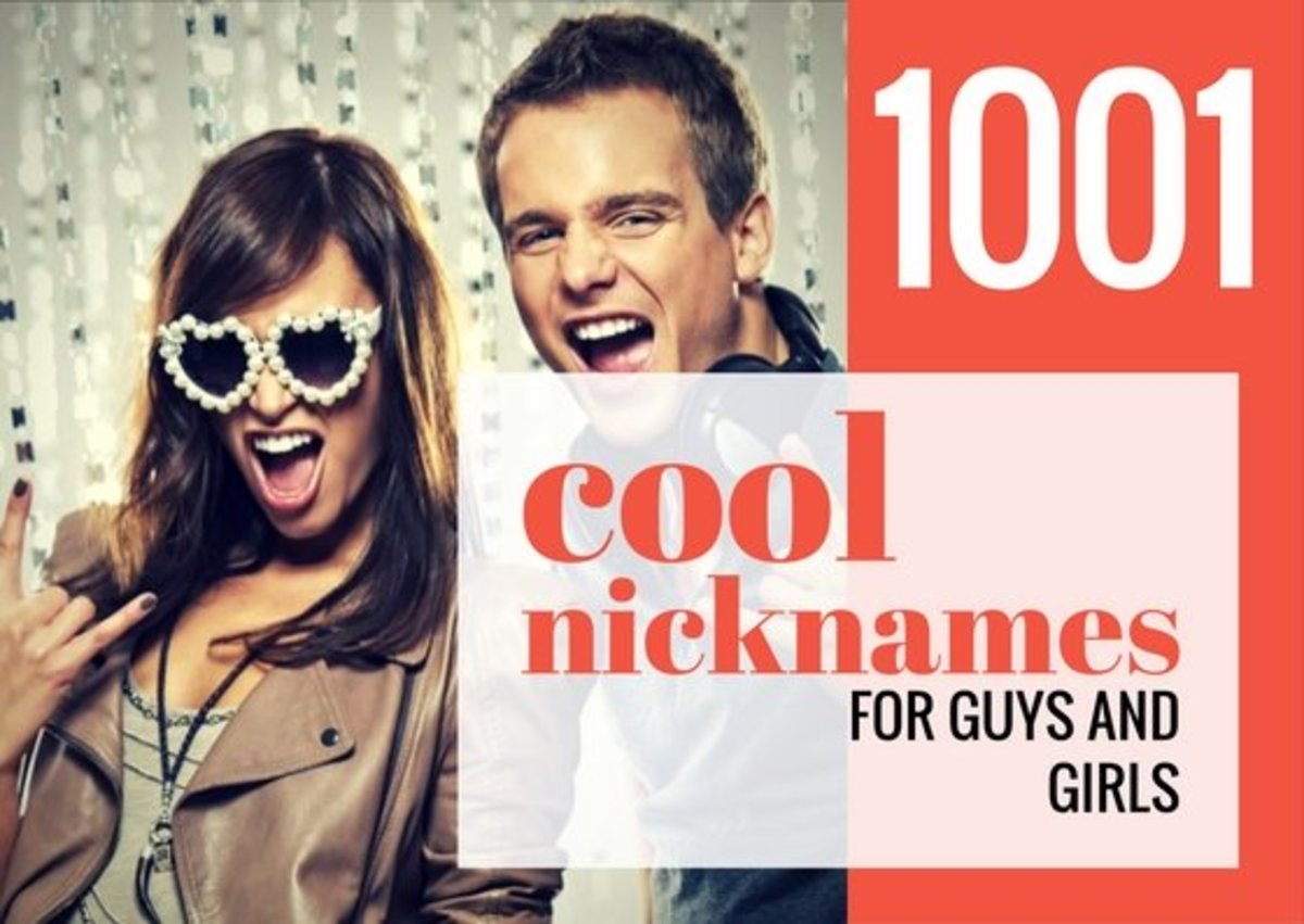 1001+ Cool Nicknames for Guys and Girls