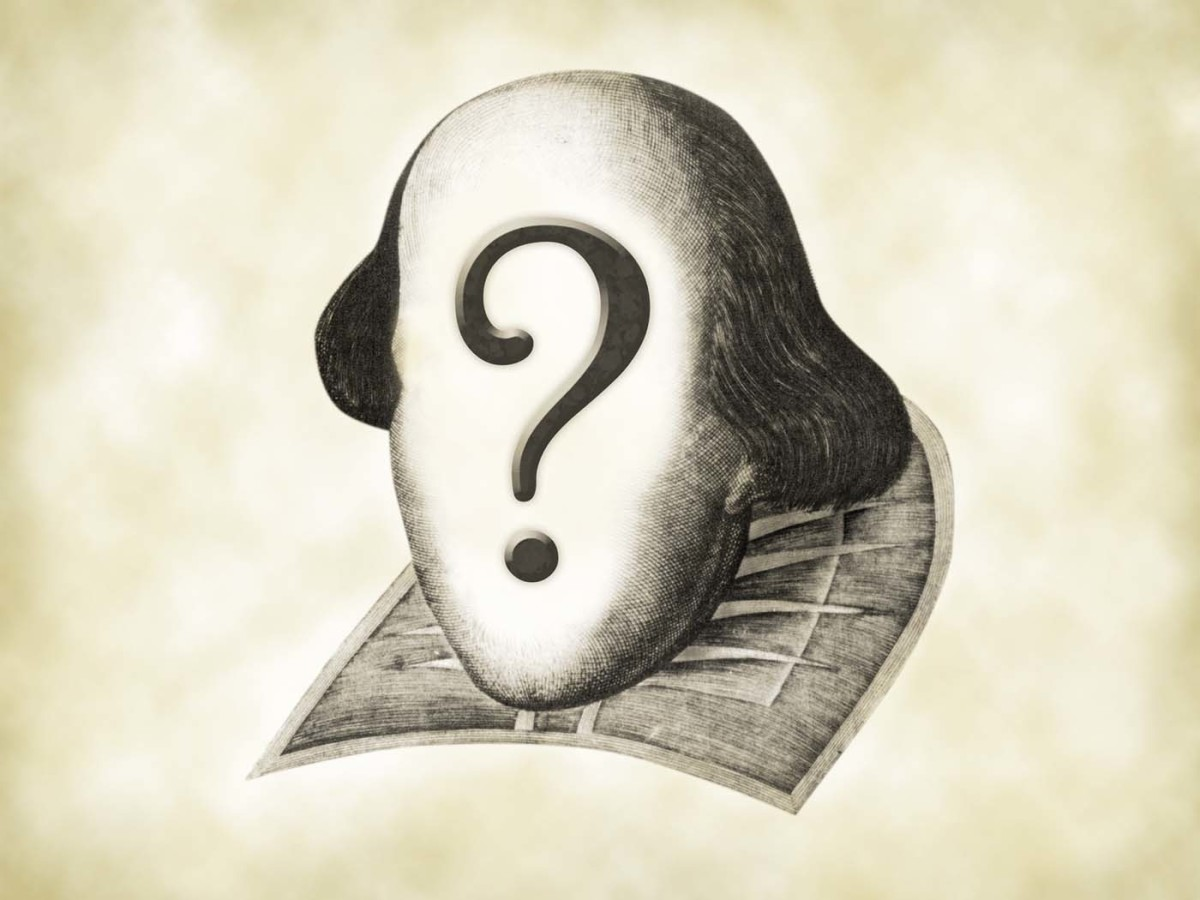 The Shakespeare Conspiracy: Will the Real Shakespeare Please Stand Up?
