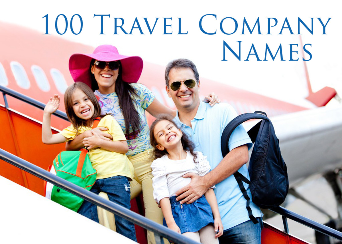 100 Travel Company Names