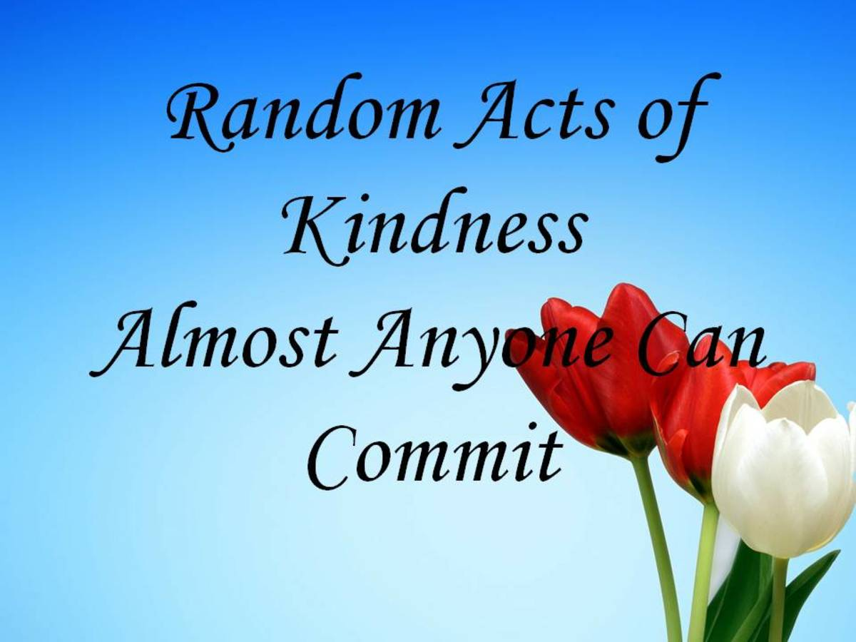 21 Random Acts of Kindness Almost Anyone Can Commit