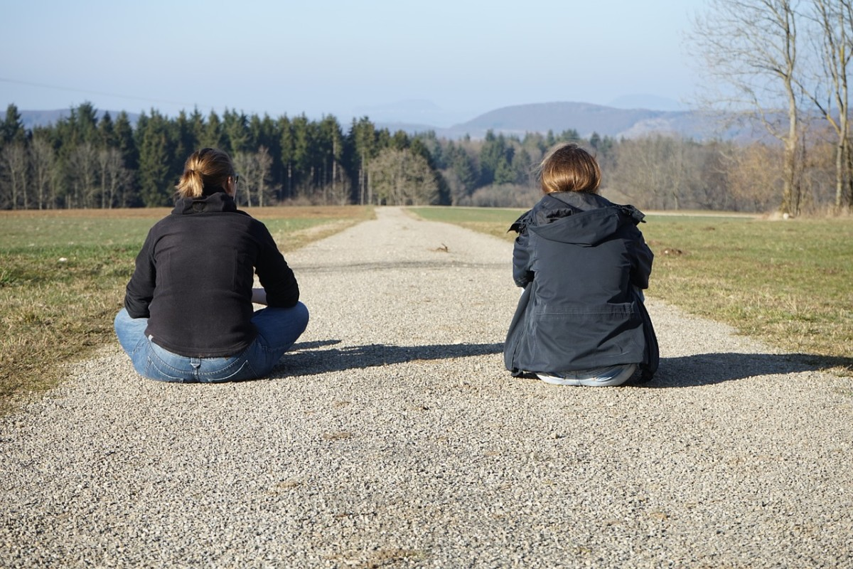 Are you and your friend on the same path? Or are you drifting apart?