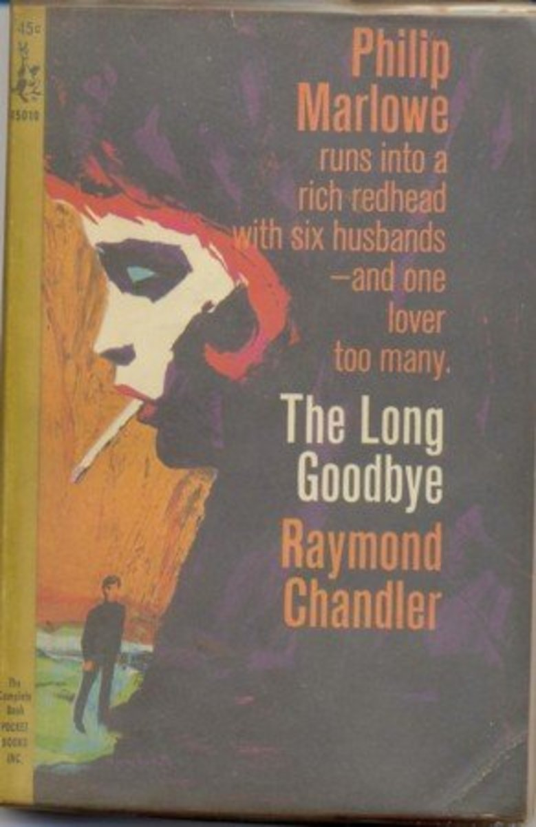 Cover of an earlier edition of The Long Goodbye.