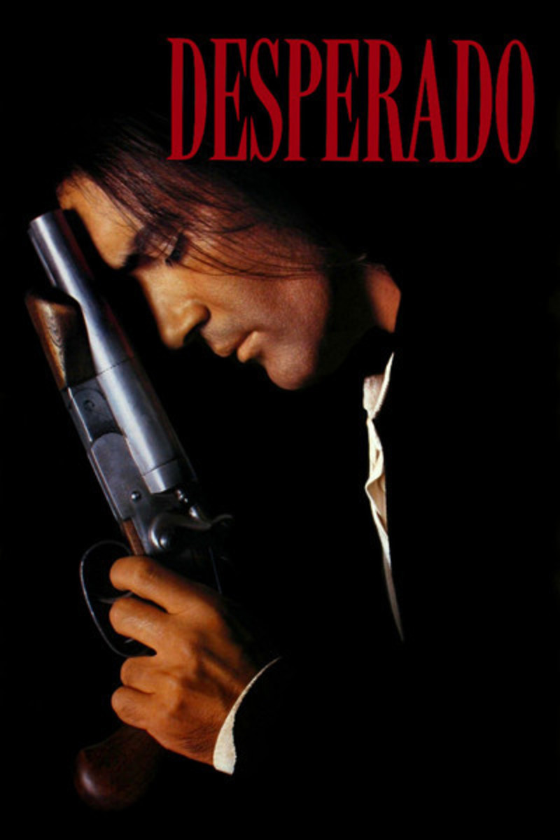"Promotional poster for ""Desperado"""