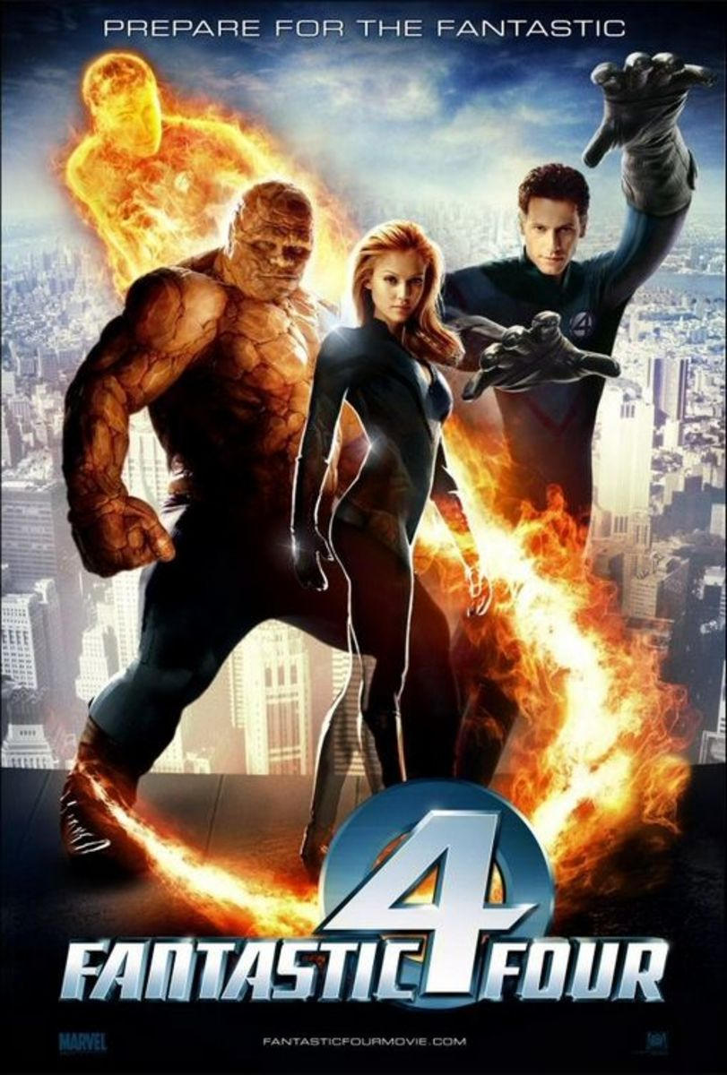 """Promotional poster for """"Fantastic Four"""" (2005)"""