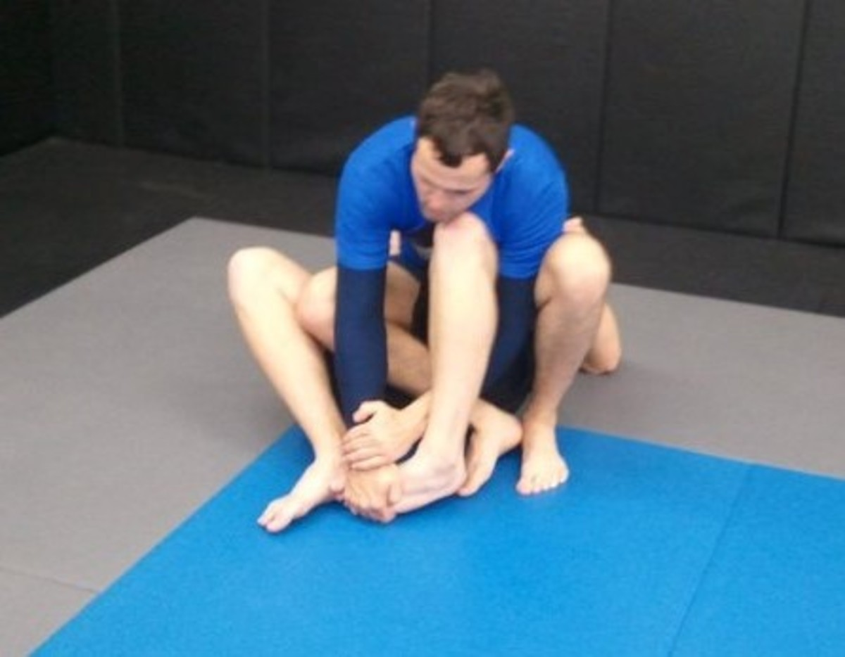 How to Set Up a Toe Hold: A BJJ Tutorial