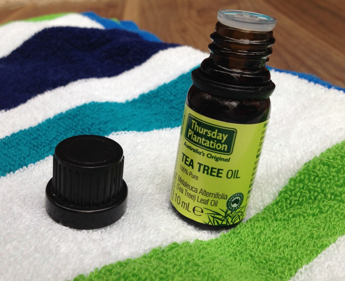 Tea tree oil treats athlete's foot.