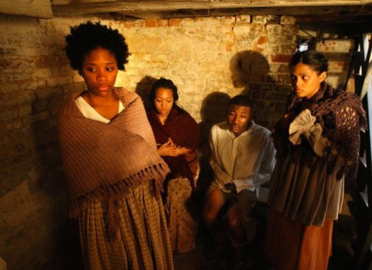 The Underground Railroad, Harriet Tubman, and The Burkle Estate in Memphis, Tennessee (TN)