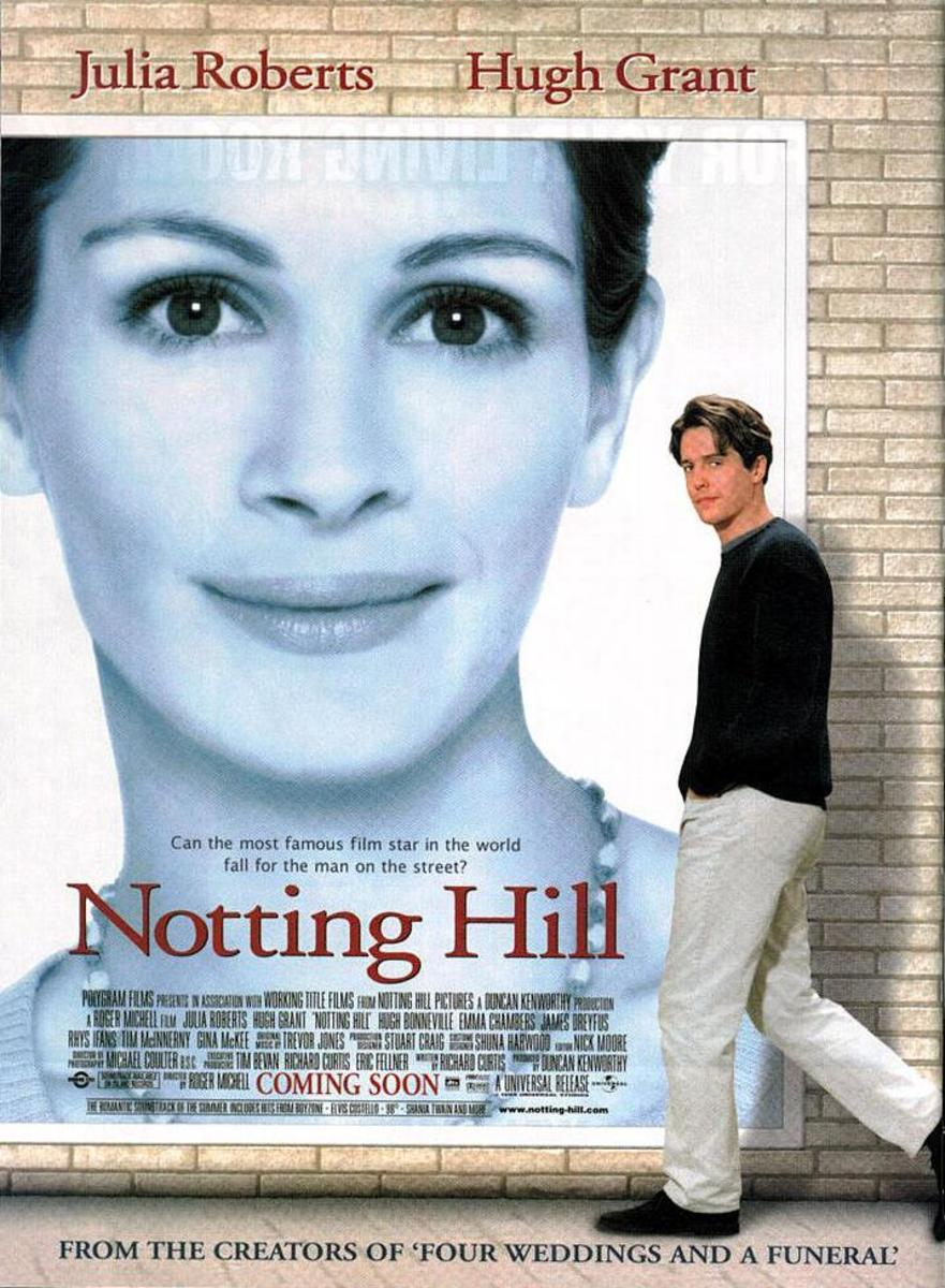 "Poster for ""Notting Hill"""