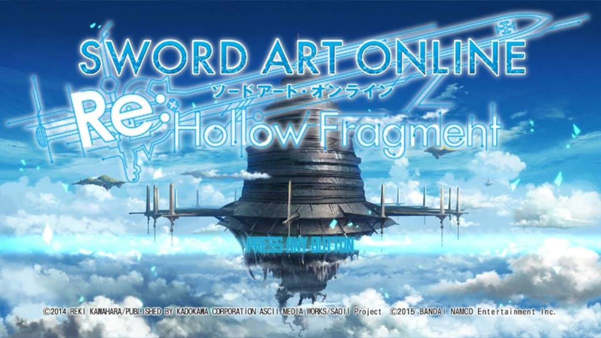 Obtain the Saintblade Ragnarok in Sword Art Online: Hollow Fragment