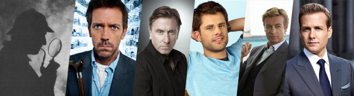 They're all such great characters! Shame they're all the same person (the coolest of all).