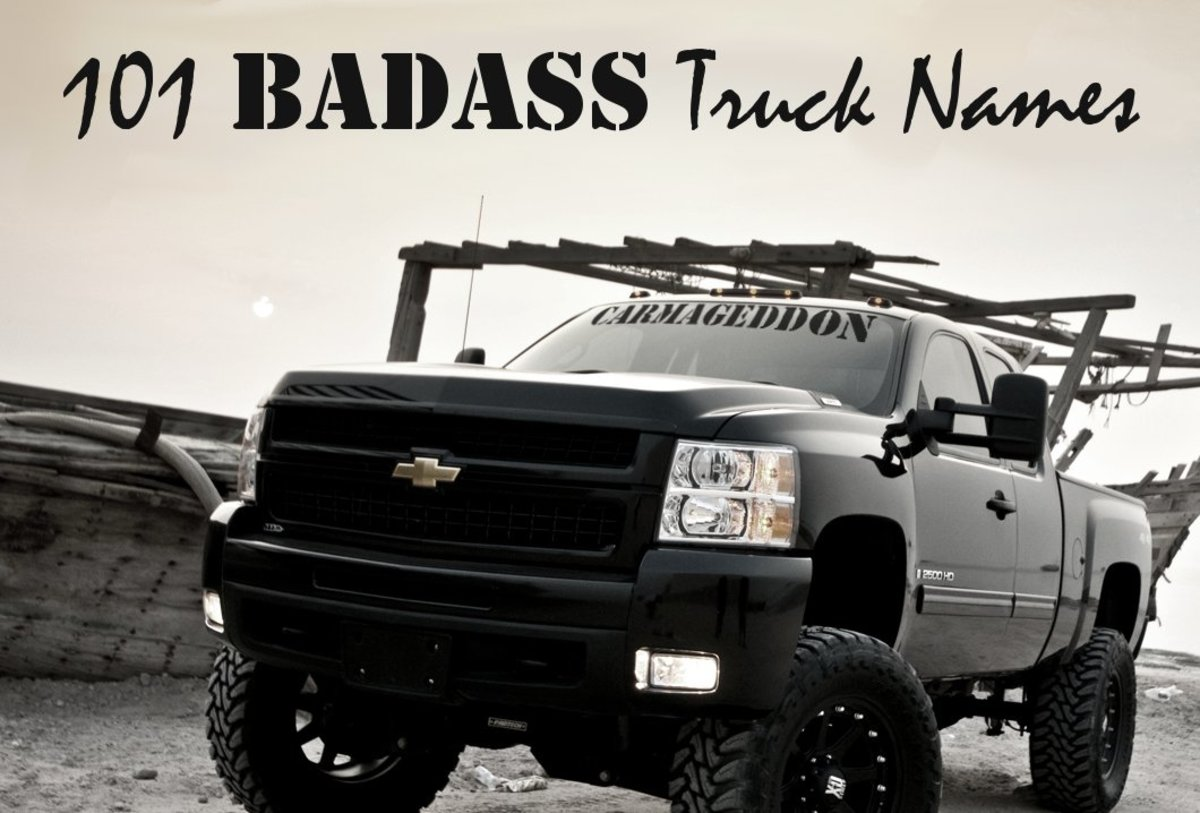 Badass Truck Names AxleAddict - Badass decals for trucks
