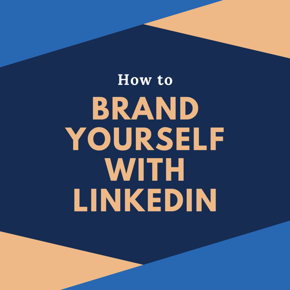 Learn how to brand yourself and make connections on LinkedIn.