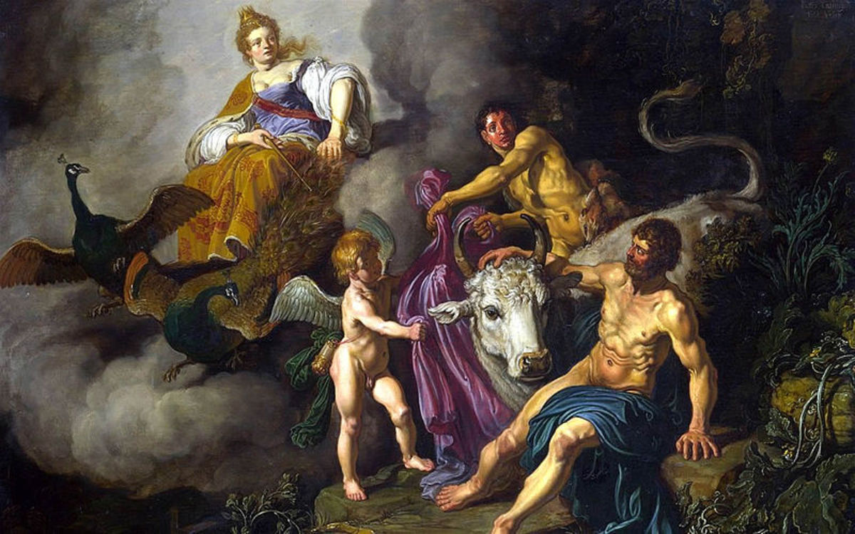 The Greek Myth of the Wanderings of Io, the Woman Transformed to a Cow