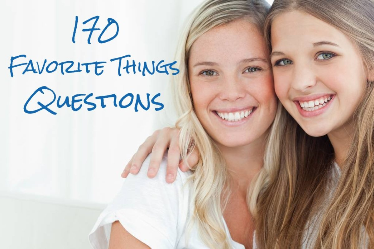 170 Favorite Things Questions