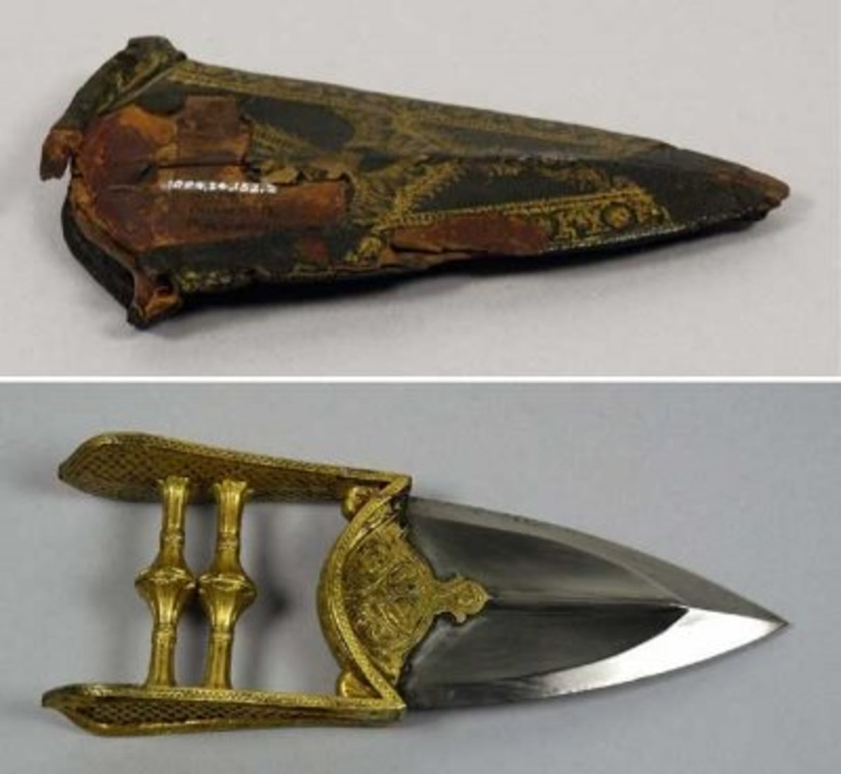 "Depicted: The ""katar"", the Indian punch knife weapon"
