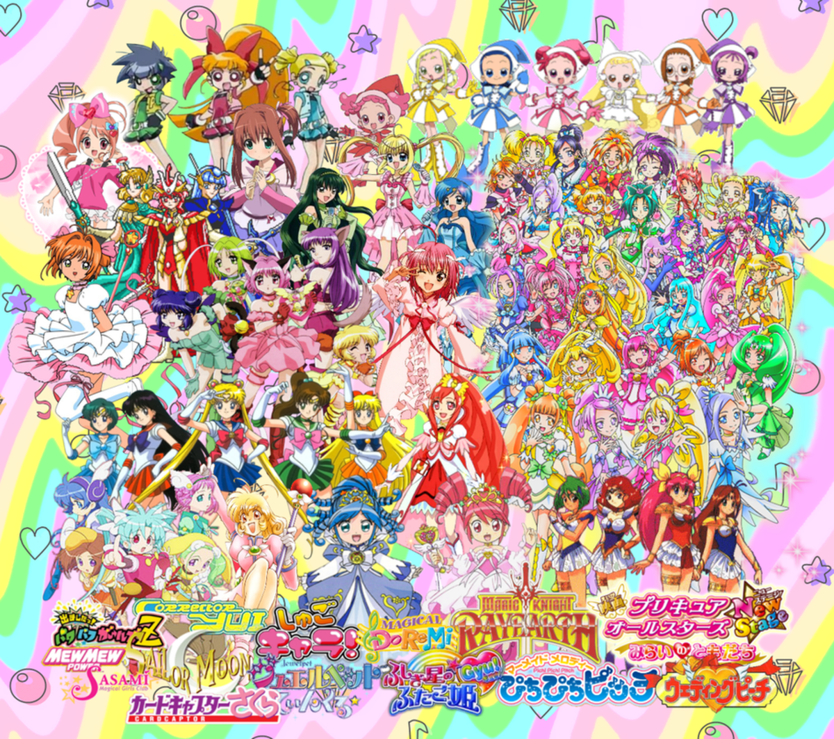Magical Girls and Their Historical Origins