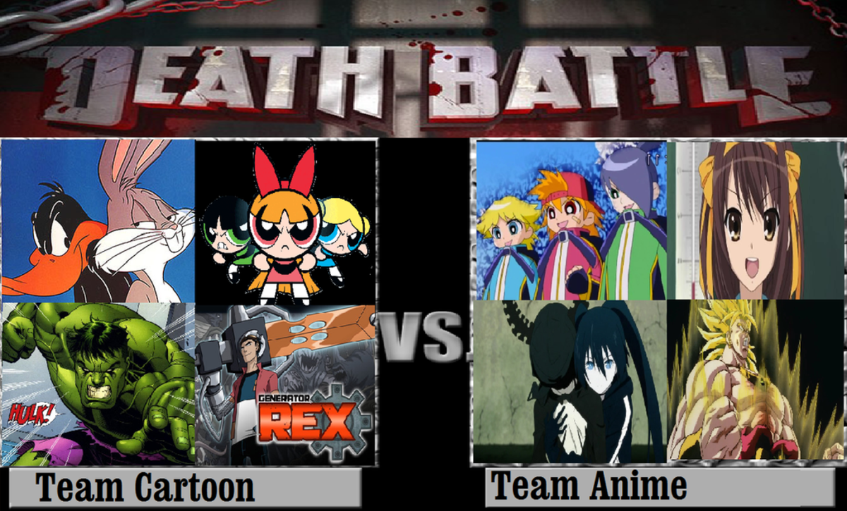 Anime vs. Western Comics and Cartoons