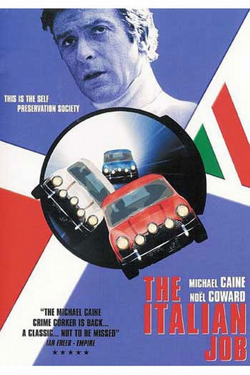 "DVD cover for ""The Italian Job"" (1969)"