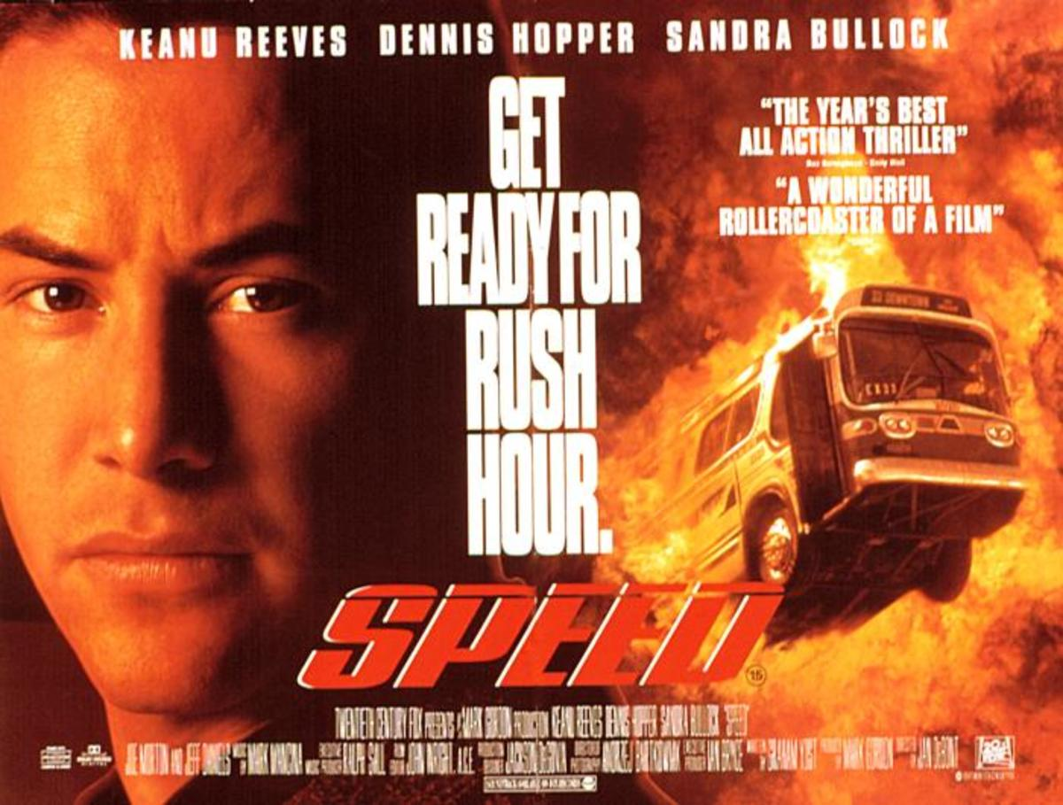 "Poster for ""Speed"""