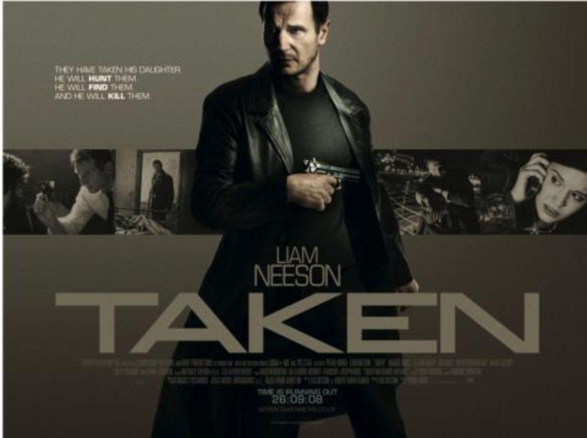 """Poster for """"Taken"""""""