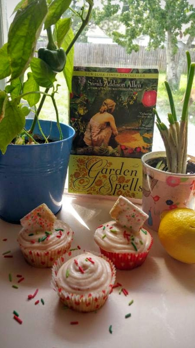 Book Discussion and Recipe: Garden Spells by Sarah Addison Allen