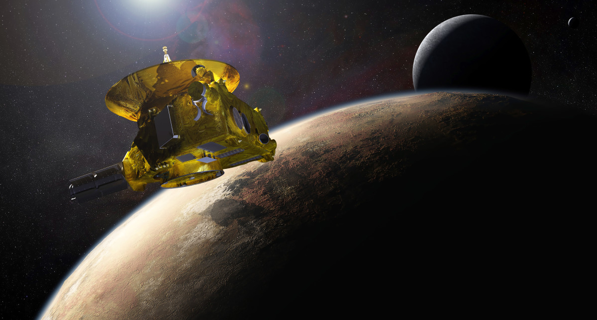 New Horizons Journey into Space and Its Findings on the Pluto System