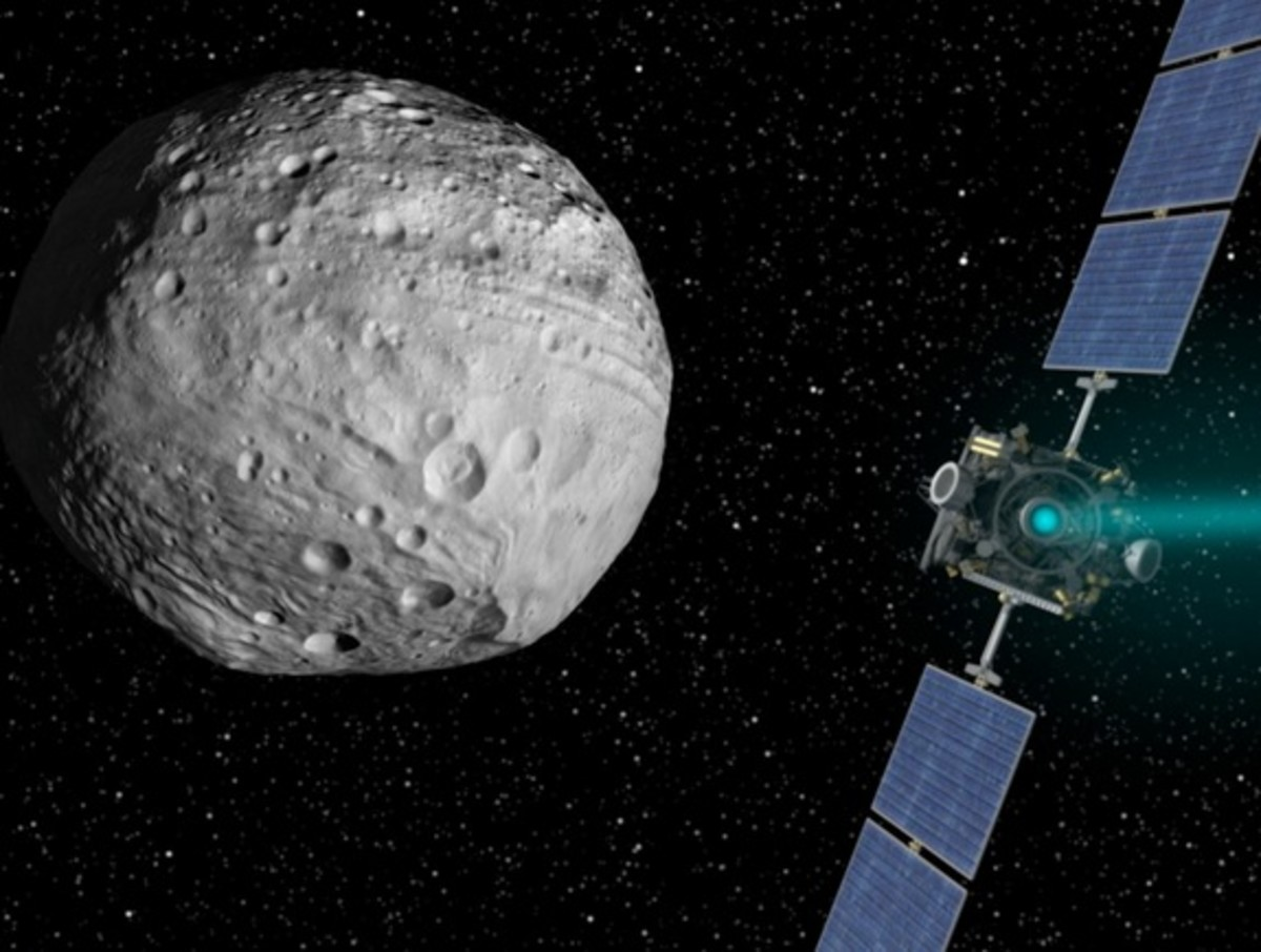 What Was Dawn's Mission on Vesta?