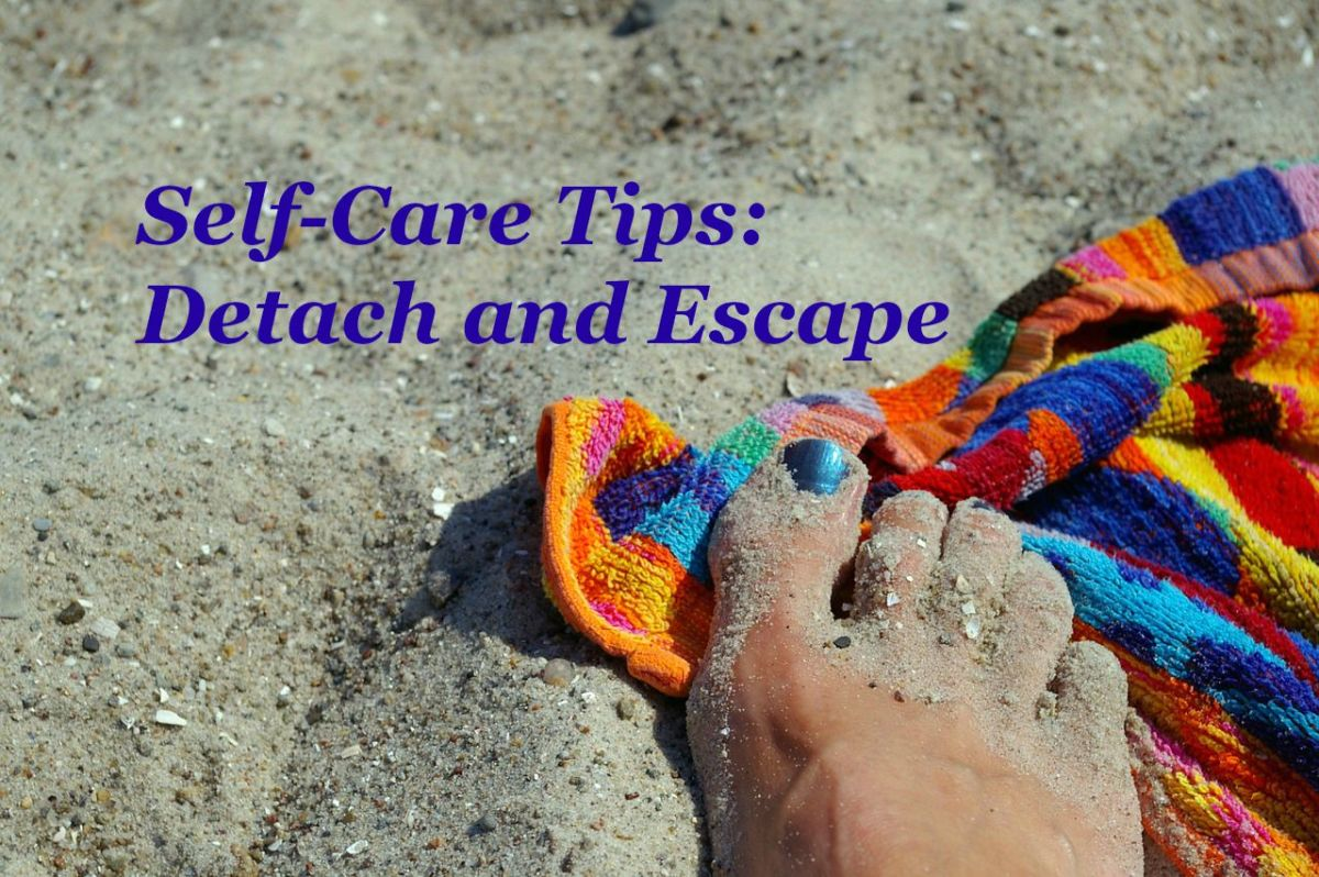 Take time to detach from constant giving and spend a little time away pampering yourself.