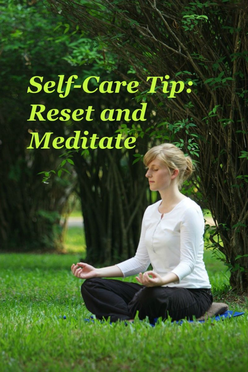 Meditation is a popular form of self-care which begins on the inside.