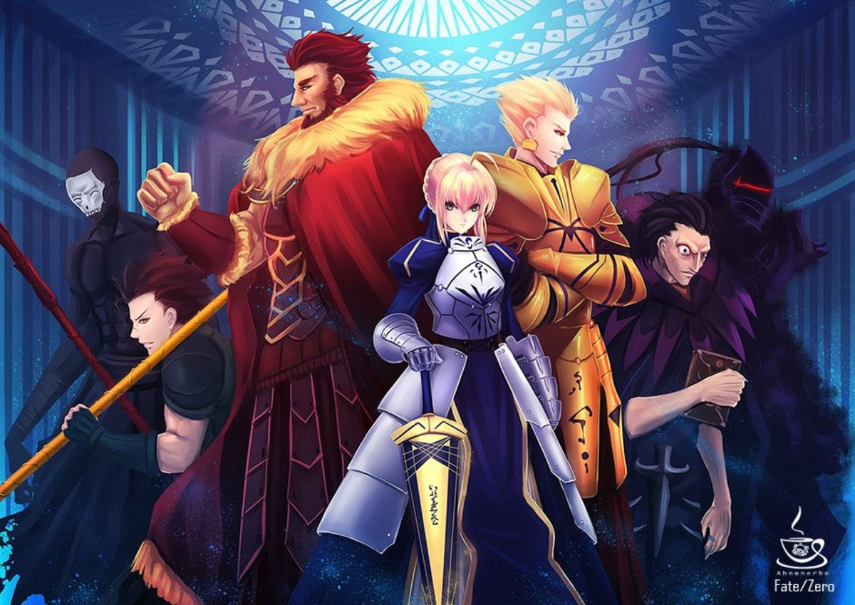 Top 7 Heroic Spirits in Fate Zero