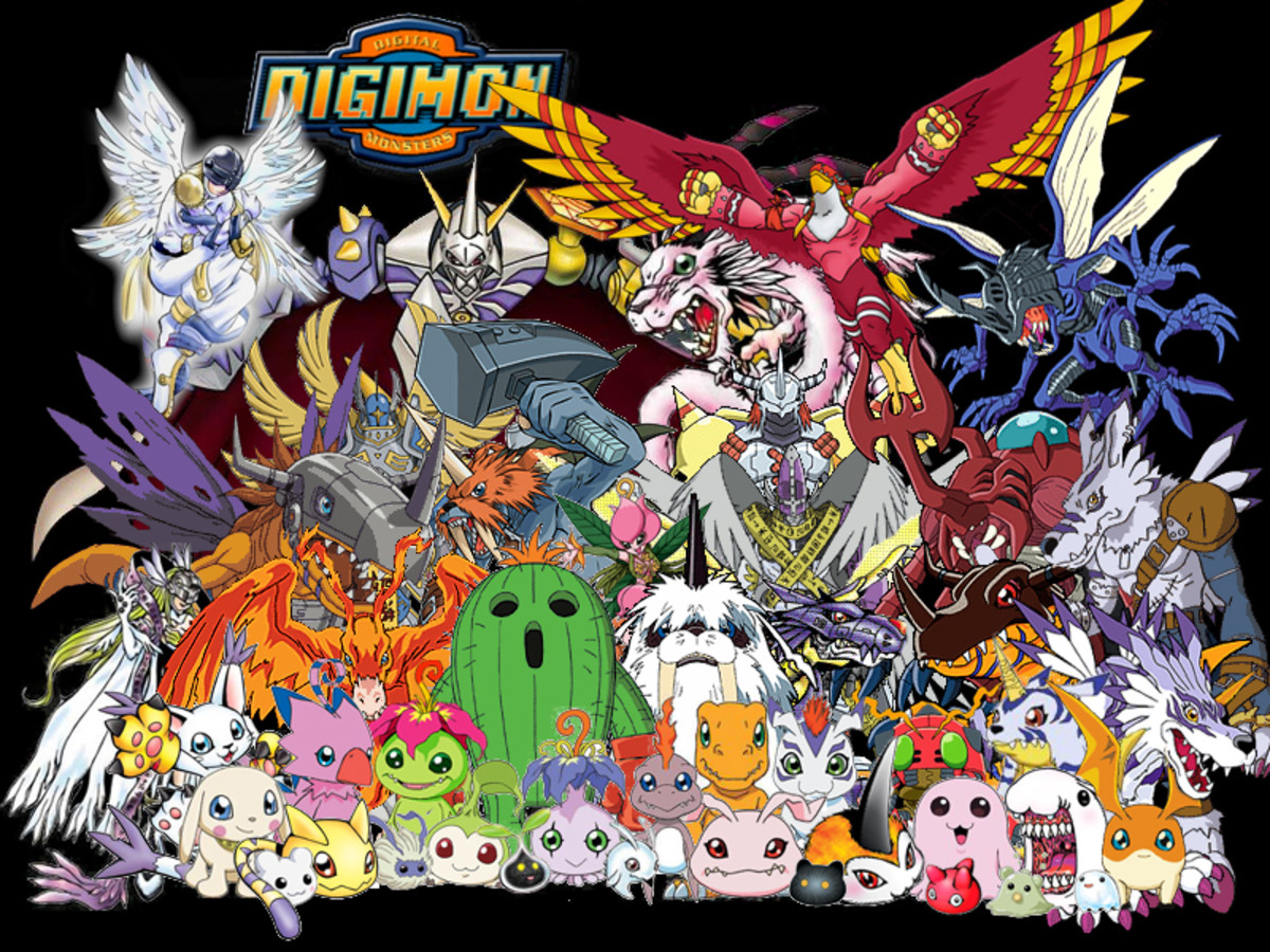 Various Digimon