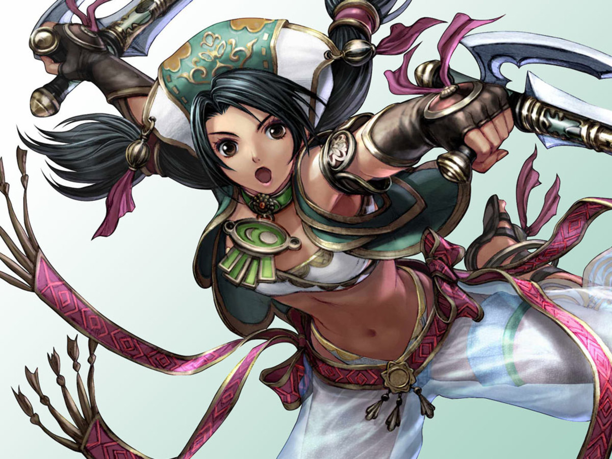 Top 11 Soulcalibur 4 Girls