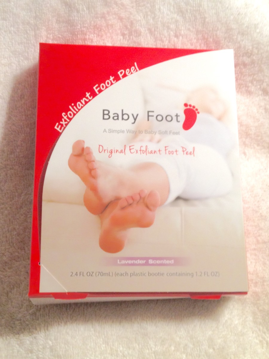 Review of Baby Foot Chemical Peel