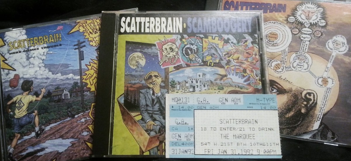 The PMRC was right. Only the Satanic melodies of Scatterbrain could've inspired such ribald twenty-something tomfoolery!