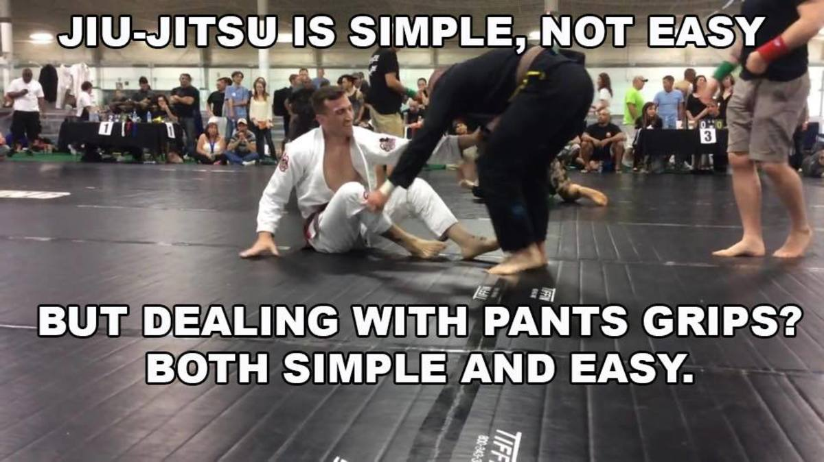 Dealing With Pants Grips: A BJJ Tutorial