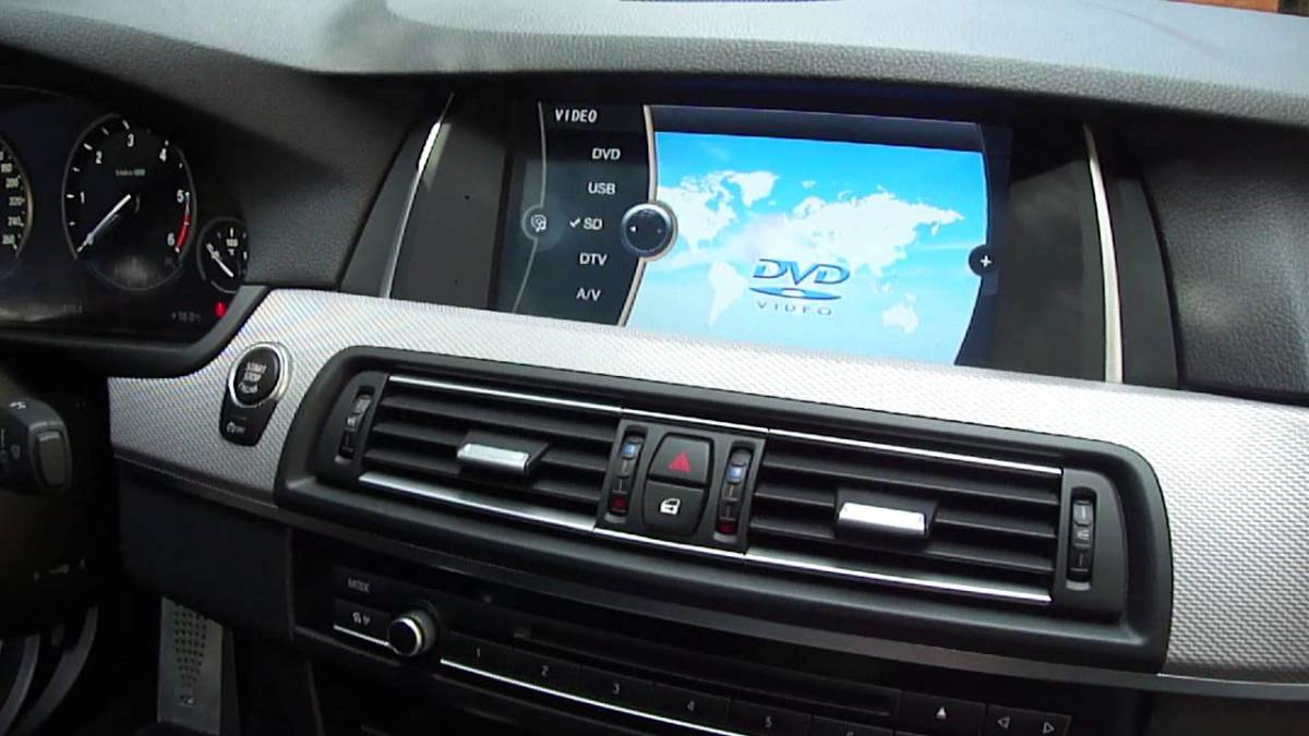 BMW F10 Video in Motion Coding | AxleAddict
