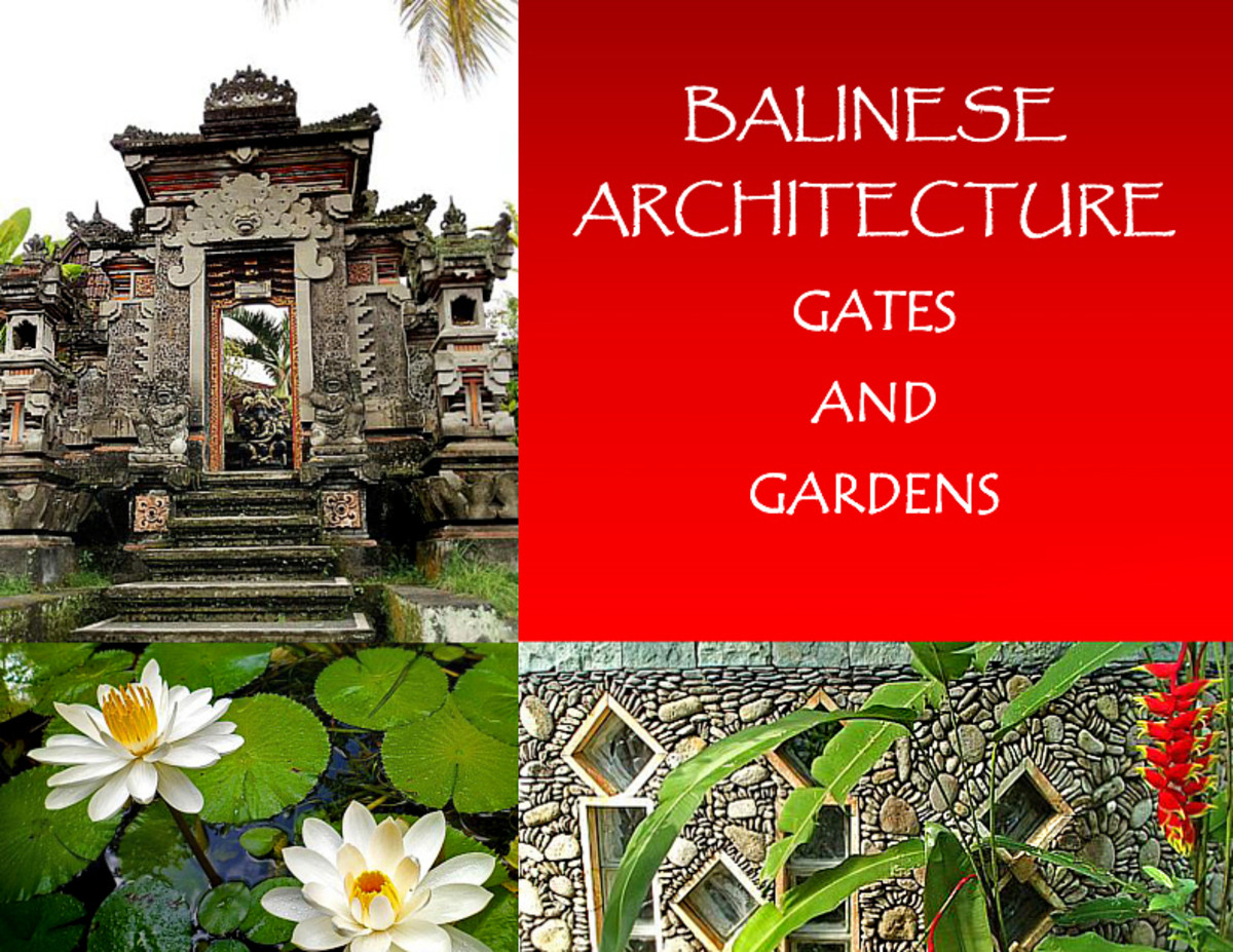 Balinese Architecture - Gates and Gardens