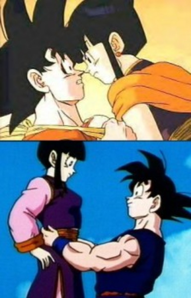 Goku and Chichi are not on this list, but they are a cute couple.