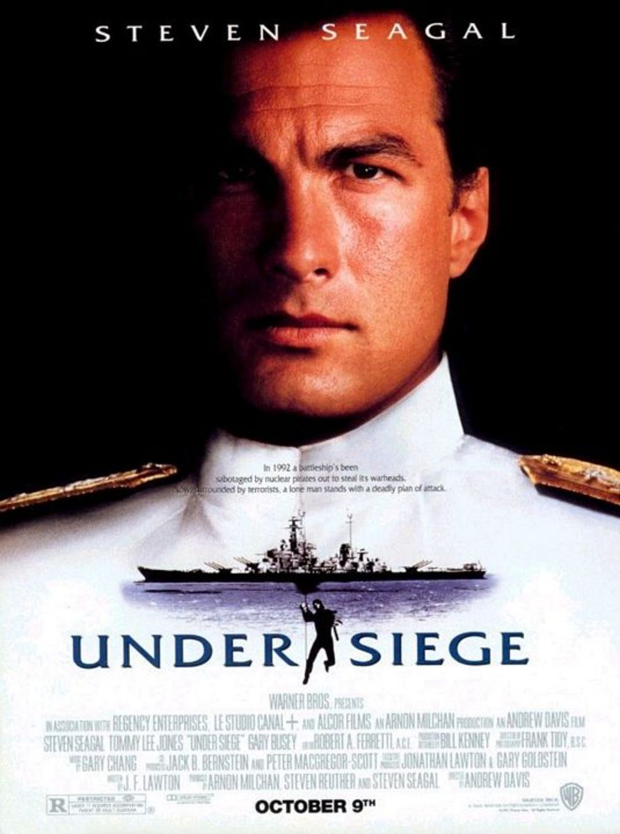 """Poster for """"Under Siege"""""""