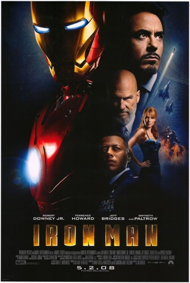 "Poster for ""Iron Man"""
