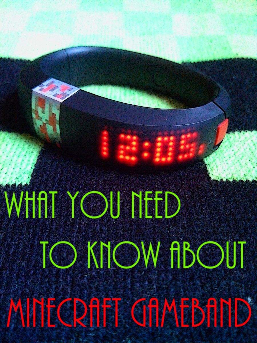 Learn everything you need to know about the new Minecraft Gameband!