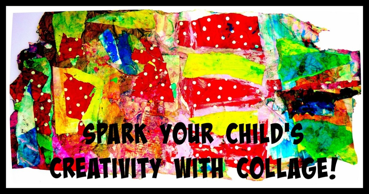 Getting Creative With Collage: A Fun, Easy, and Open-Ended Art Project to Do With Your Child