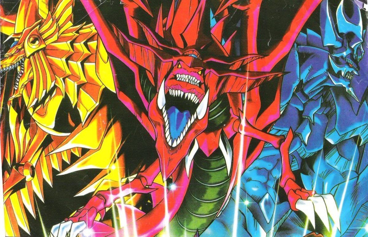 Ra, Slifer, and Obelisk