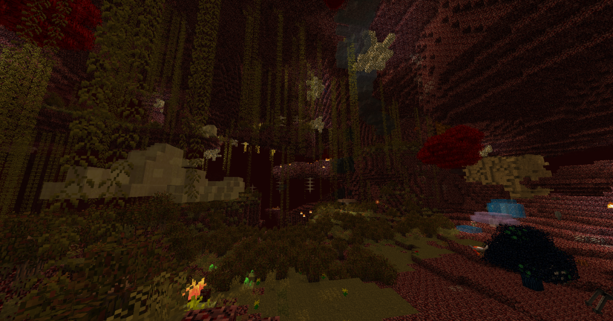 "Explore some mods for ""Minecraft"" that enhance the visuals and experience of the Nether."