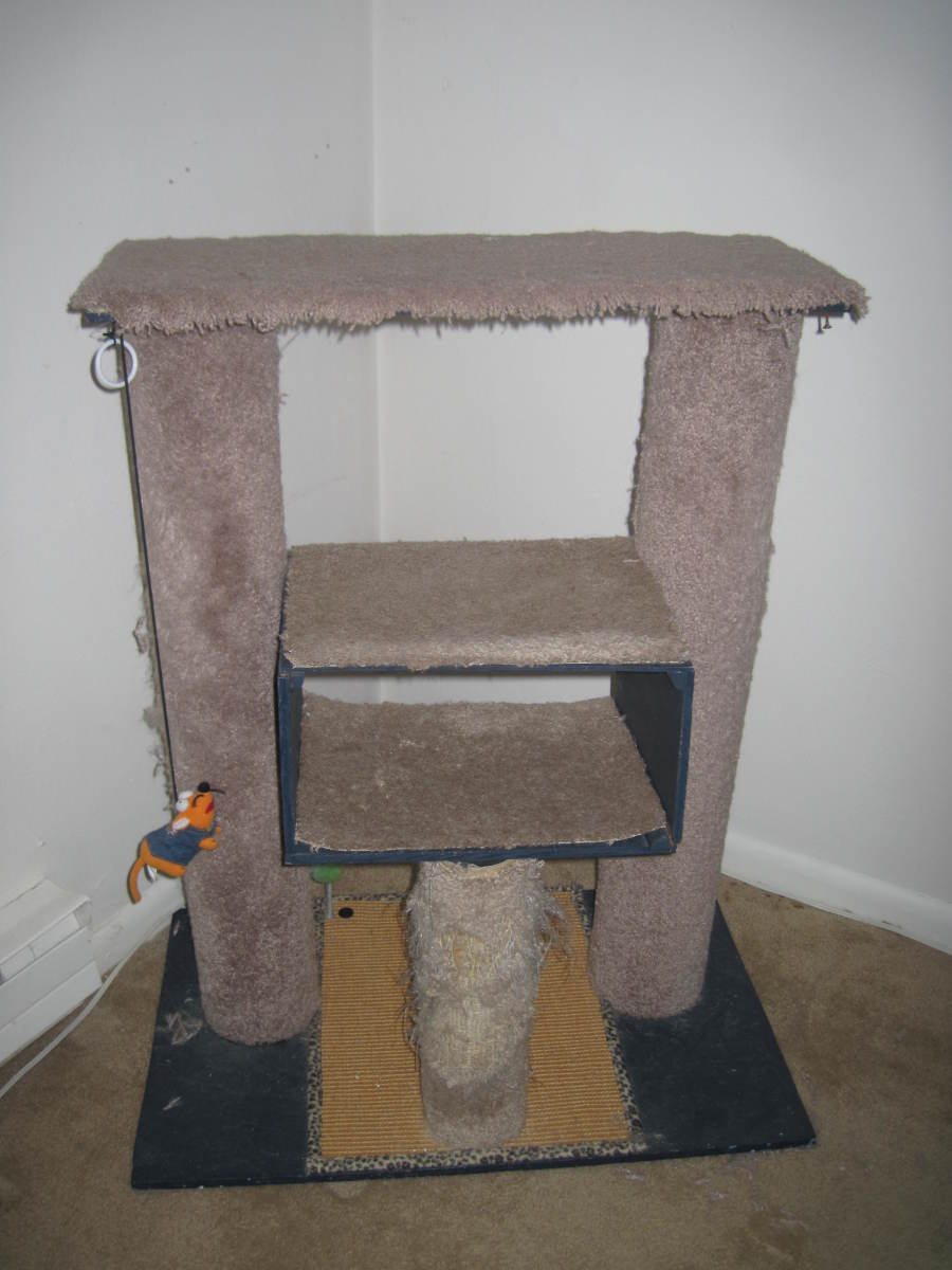 How to Re-Carpet Your Cat Tower