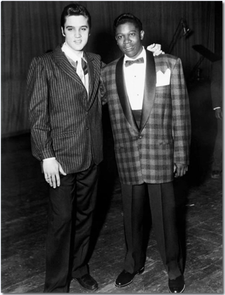 From 1935 to the 1970's Amateur Night on Beale Street was the place for  every entertainer, with a dream, to perform.  If you could survive the harsh, unsympathetic crowds, as these two fellows did, you were destined for stardom.
