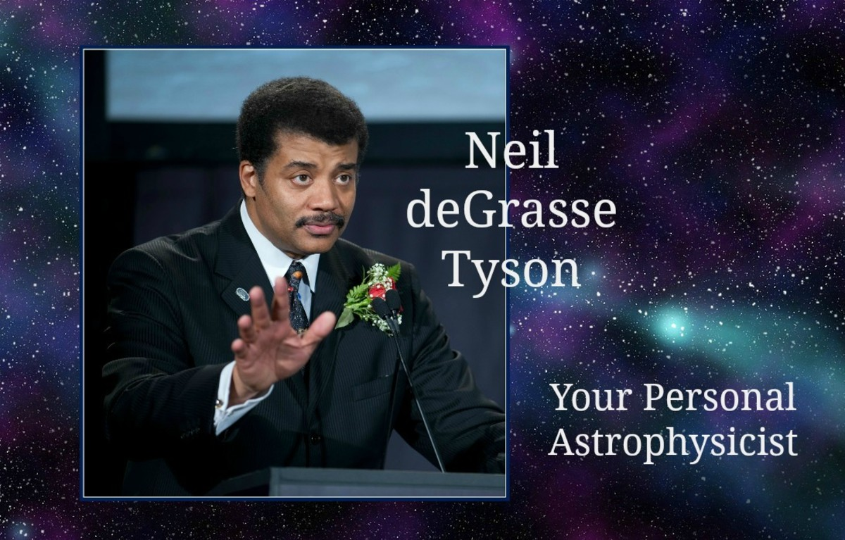 "Neil deGrasse Tyson styles himself as ""Your Personal Astrophysicist."""