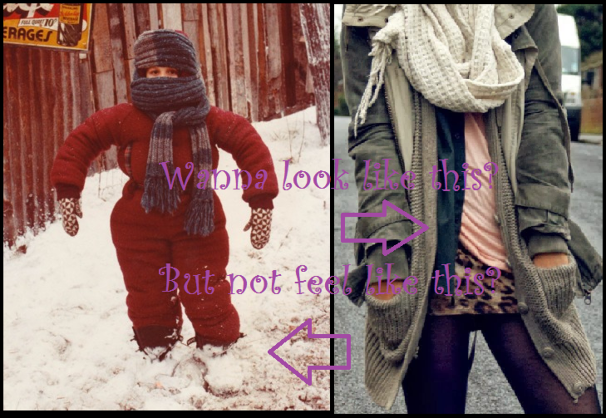 How to Layer Clothes and Winter Fashion Trends